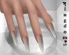 Sharp nails, mix ash