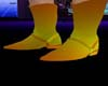 (MN1)boots yellow n gold