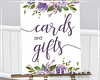 H, Card and Gifts Purple
