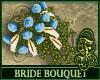Bride Bouquet Sky Blue