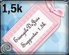 EDJ 1,5k Support Sticker