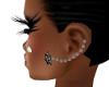 Smexy Black Earrings