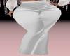 Kitten White Satin Pants