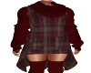 Zia Winter Outfit-Maroon