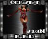 Corset Red SLIM