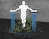 Male Fountain Statue