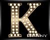 H. Marquee Dark Gold K