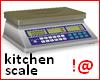 !@ Kitchen scale