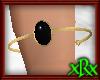 Onyx Cuff Bracelet Gold