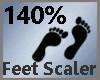 Feet Scaler 140% M A