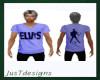 JT Elvis Tee Blue