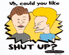 Beavis & Butthed Cutout