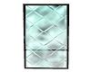 Teal Loft Glass Screen