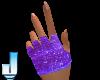 Luminus Purple Gloves