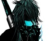 -x- teal gasmask