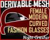 Fem Mod F Glasses Mesh