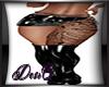 DesiQJax Tat Skirt Boot