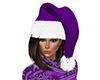 Purple Santa Hat (F)