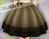 !Q! 3rd Met Bell Skirt