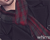 Red Winter Scarf