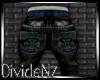D: Studded Black Jeans