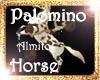 !(ALM) A PALOMINO HORSE