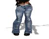 jeans bleu+boots
