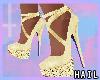 Golden Terri Heels