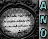 Funny afk sign