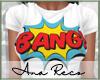 """A T-shirt """"BANG!"""""""