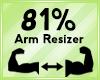Arm Scaler 81%