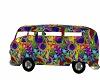 70s hippie camper van