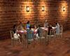 greek tavern table