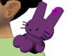 dark fushia bunny