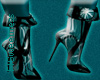 FLS Abstract Boots Teal