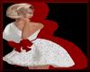 Sparklet  Dress WhiteRed