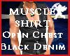 Muscle Shirt Open Chest
