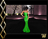 Elegant Green Gown