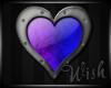{Wish}Purple Blue Heart