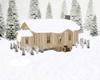 Winter Snow Cabin