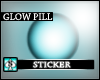 (AS) Glow Pill -skyblu2