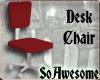 SoA Red Desk Chair
