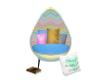 Zig Zag Egg Chair (kids)