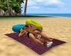 pose couple plage