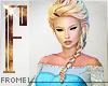 F - Frozen Elsa
