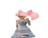 princess satin dress
