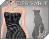 ~AK~ Strapless Gem Gown
