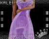 ♔K Princess Gown Purpl