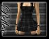 [R] Black Plaid Mini