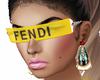 FENDI Glasses yellow